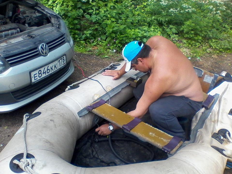 Подготовка к рыбалке за пару шагов!