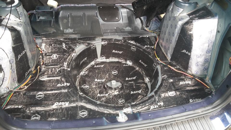 Шумоизоляция в машину логан
