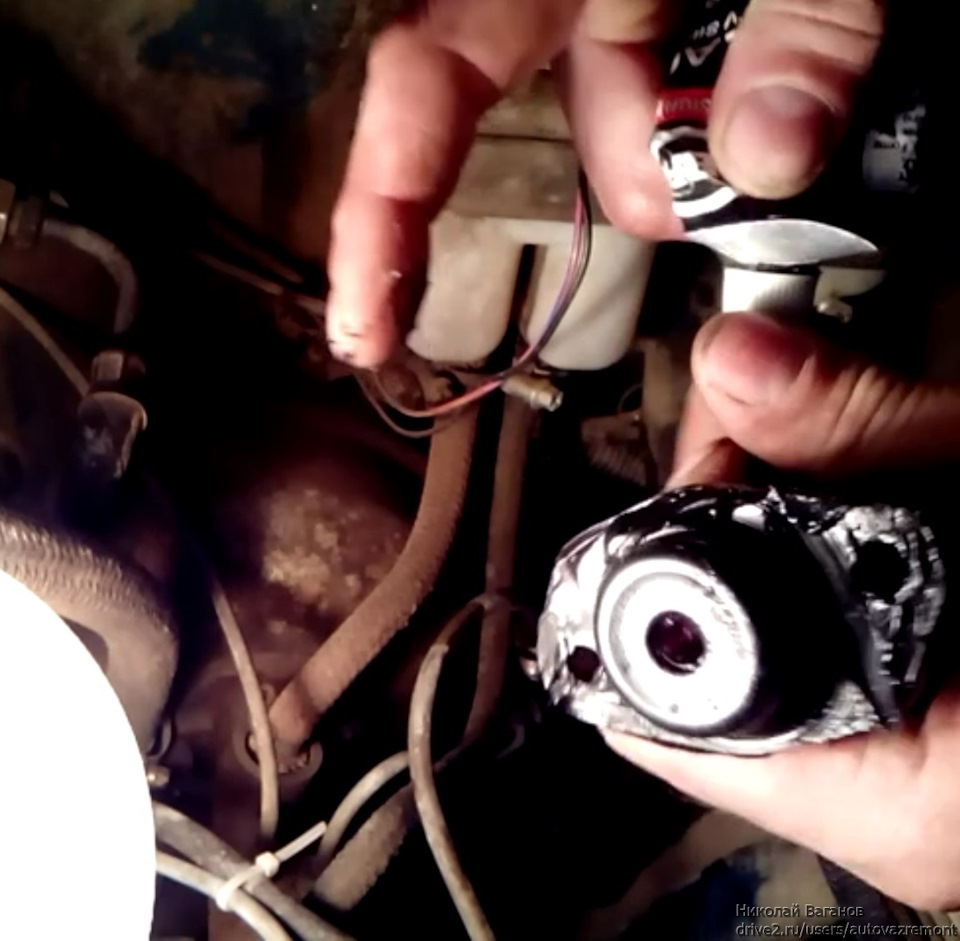 85dea09s 960 - Течь главного цилиндра сцепления