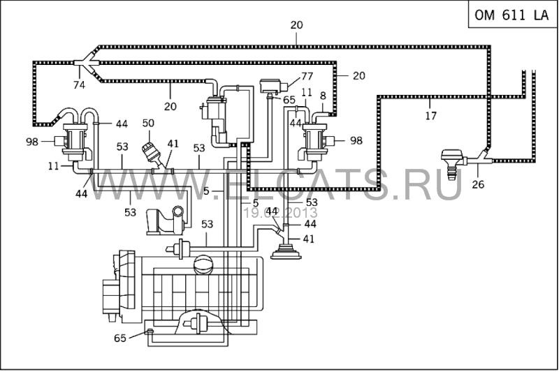 Схема воздушных турбин