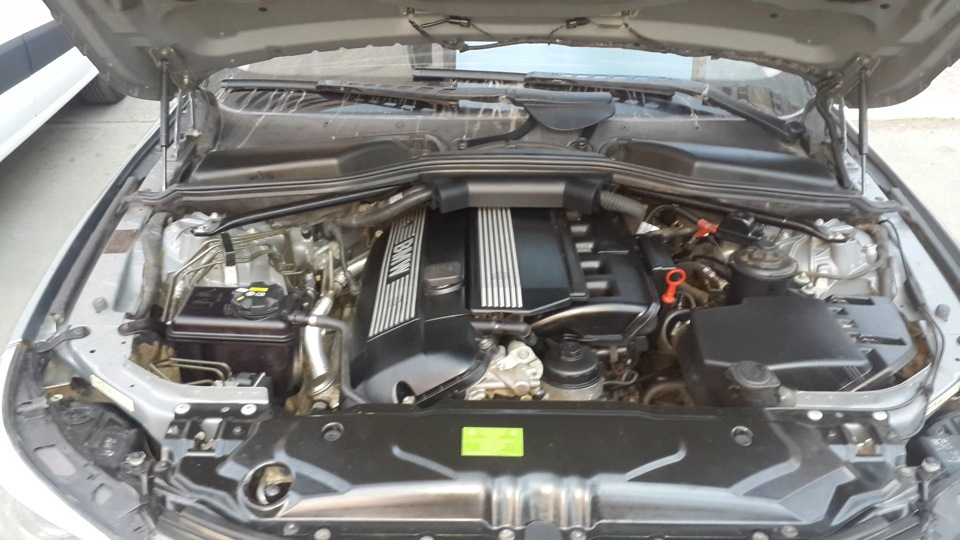 Fault: Activate tank vent valve Code: 2772 — BMW 5 series, 3 0 л