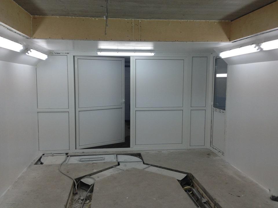 Изготовить вПокрасочная камера своими руками наш гараж