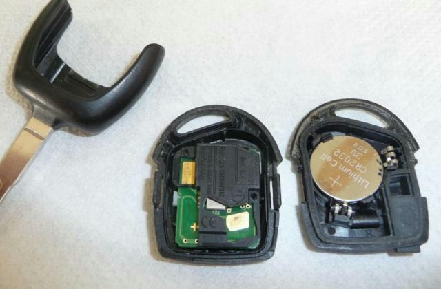 ключ форд батарейка