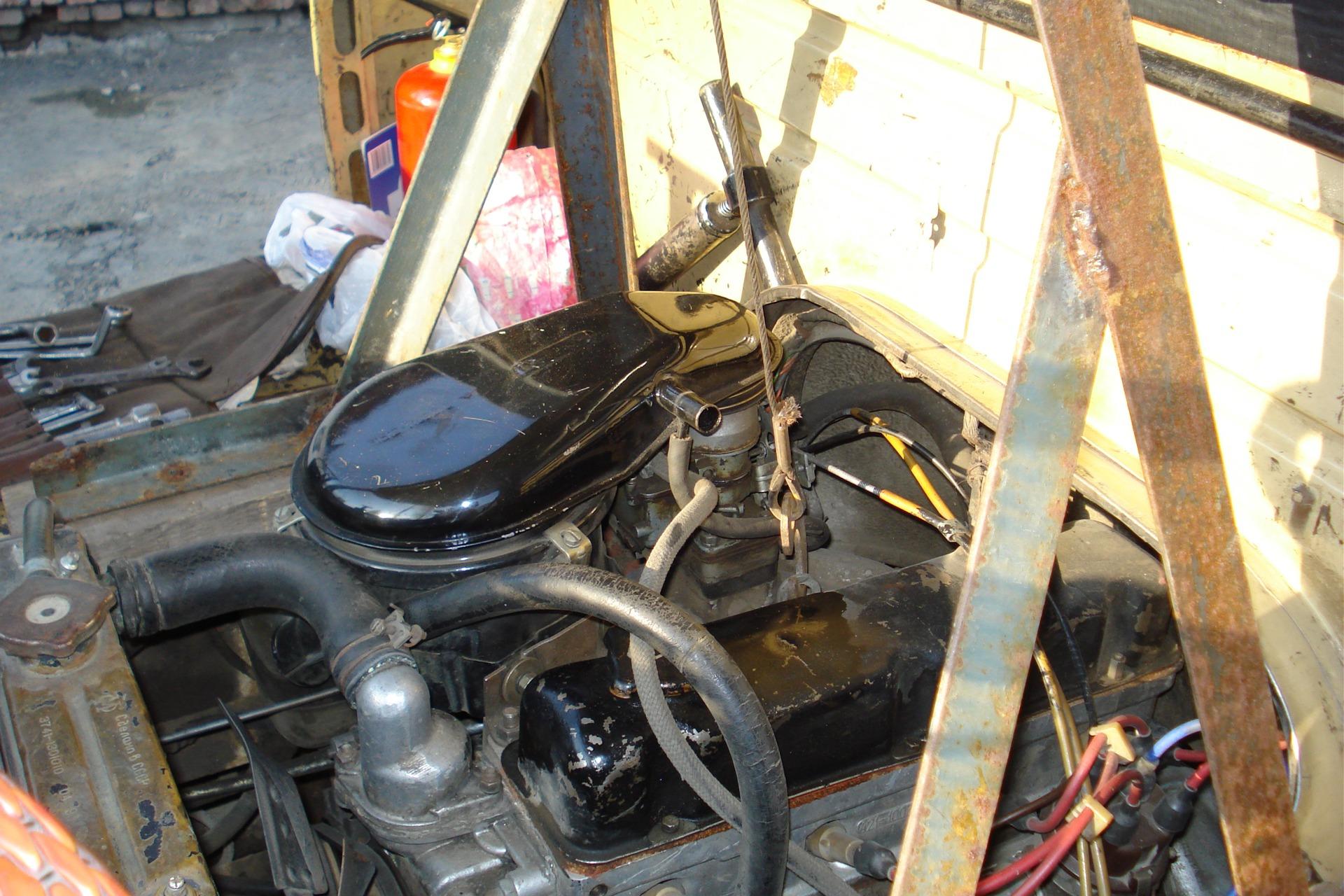 Снимаем двигатель своими руками 92