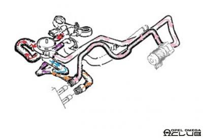 объем системы охлаждения опель омега б
