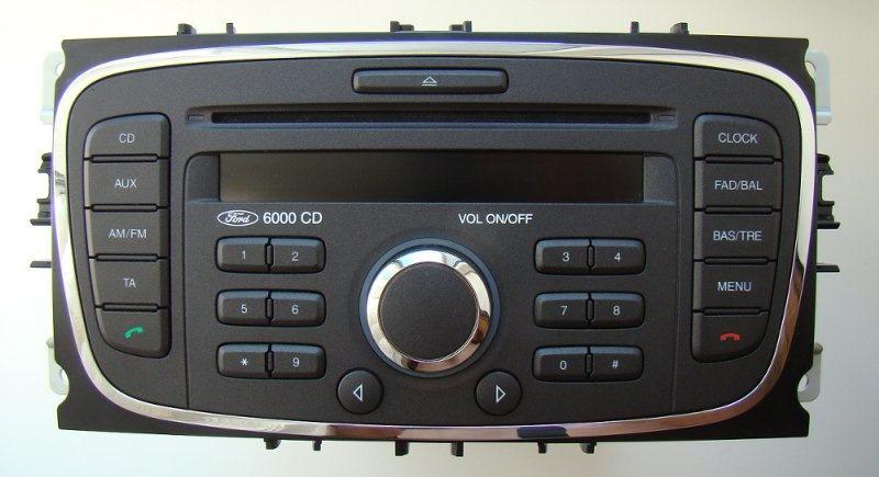 Штатные магнитолы Ford с навигацией