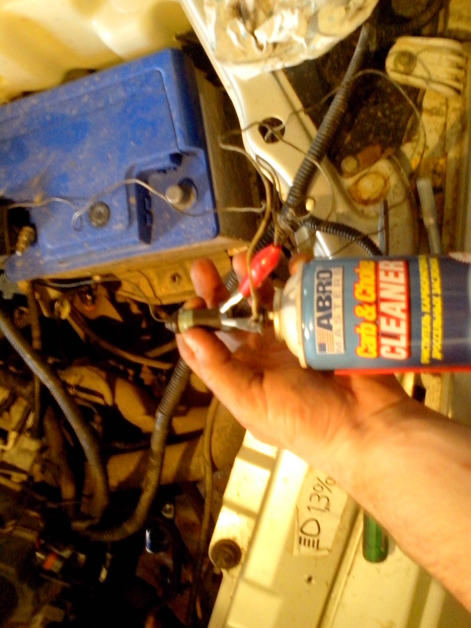Промывка инжектора ваз 2112