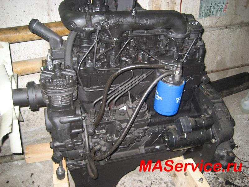 Ремонт двигателя 245 евро 2 своими руками 13