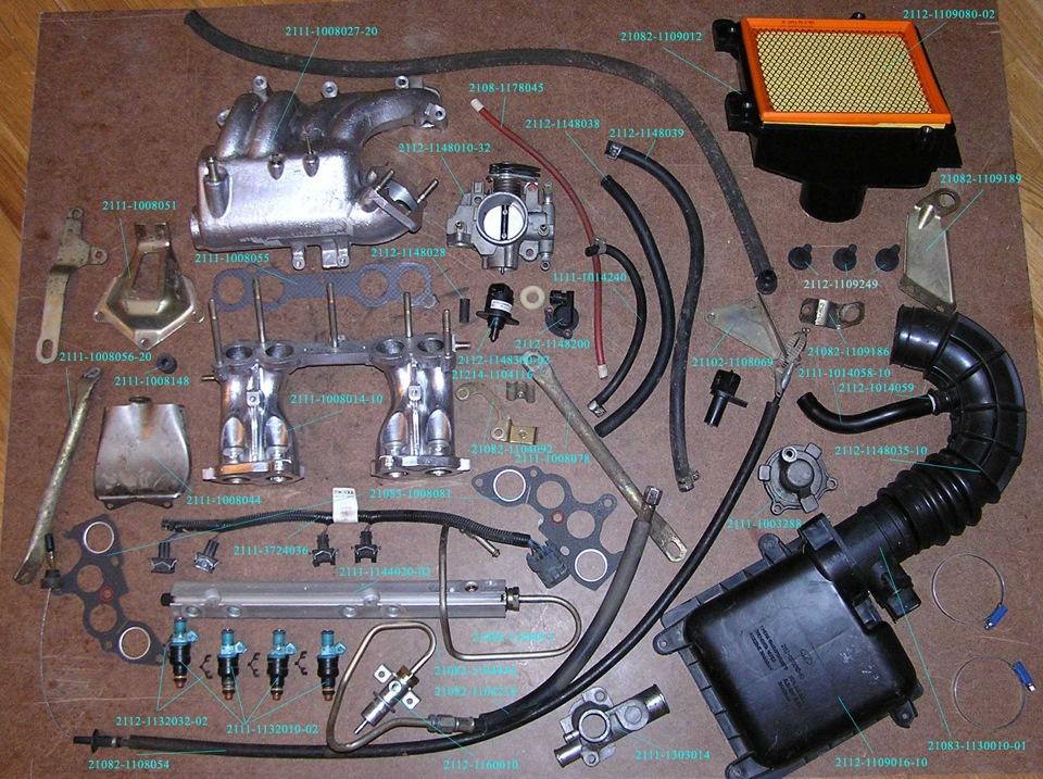 Ваз инжектор ремонт своими руками
