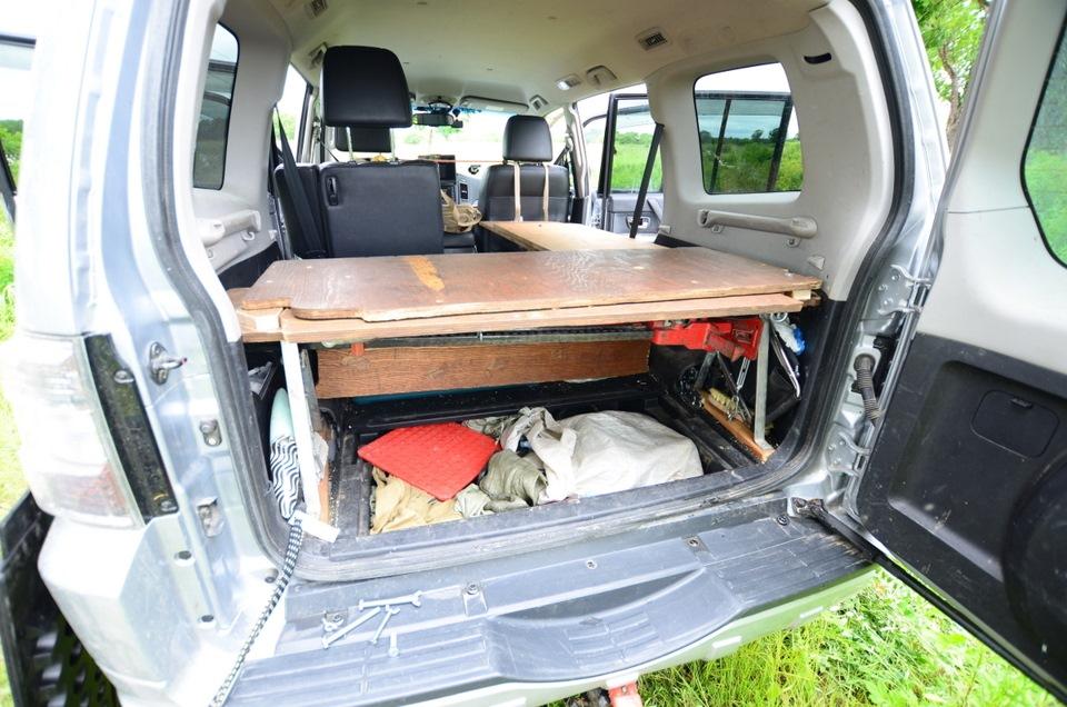Фото спальников в паджеро