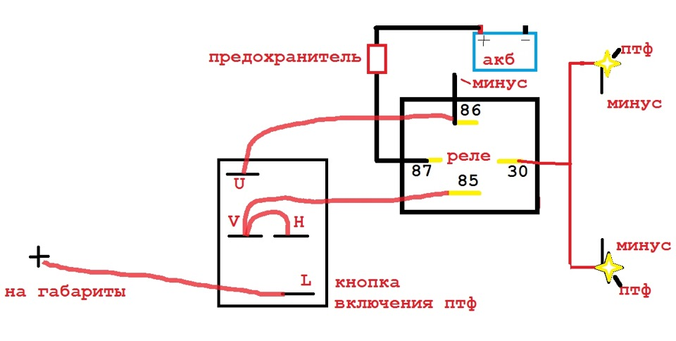 моя схема)