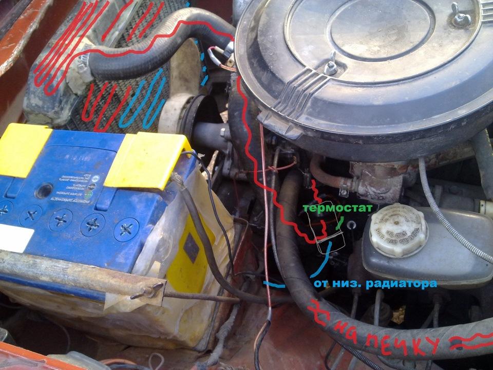 Система охлаждения АЗЛК 2140