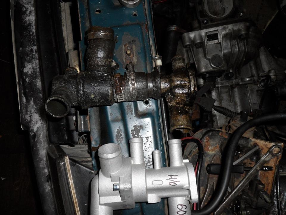 Фото №3 - термостат от ВАЗ 2110 на ВАЗ 2109