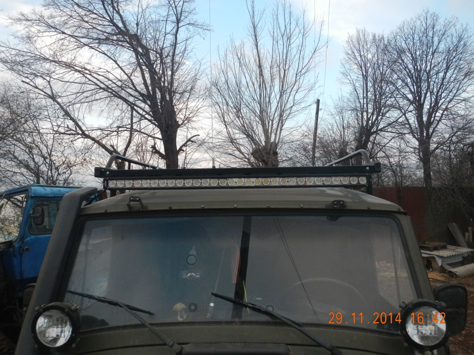 LED балка на крышу УАЗ