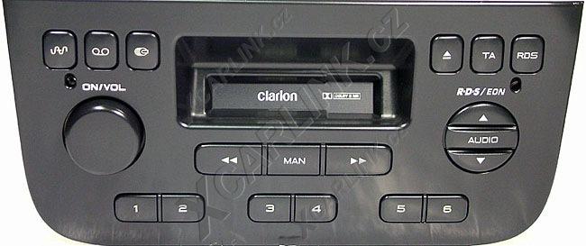 штатная магнитола peugeot 406 clarion