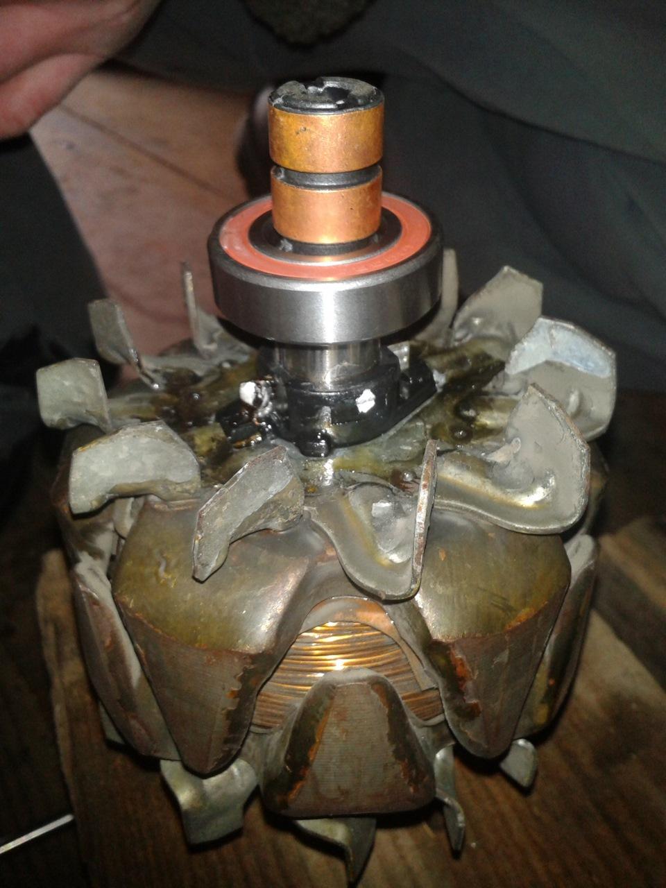 Фото №21 - замена токосъемных колец генератора ВАЗ 2110