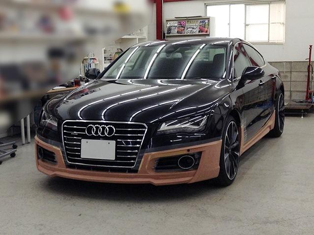Wald Japan Работа над обвсом для Audi A7