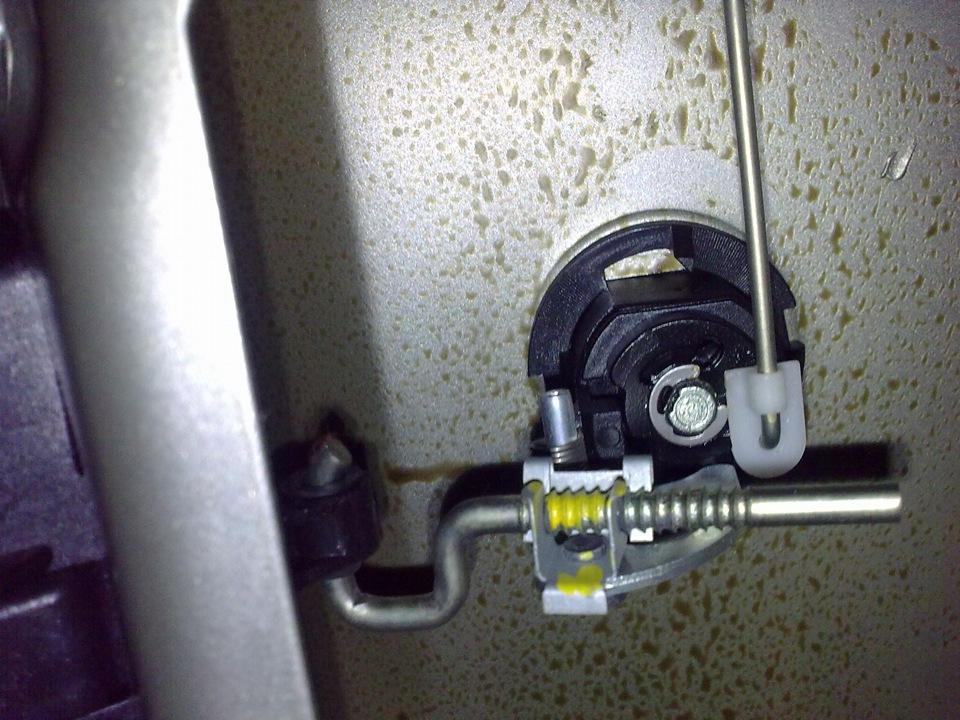 открывание багажника рено логан с кнопки