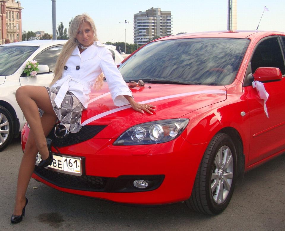 голые авто леди: