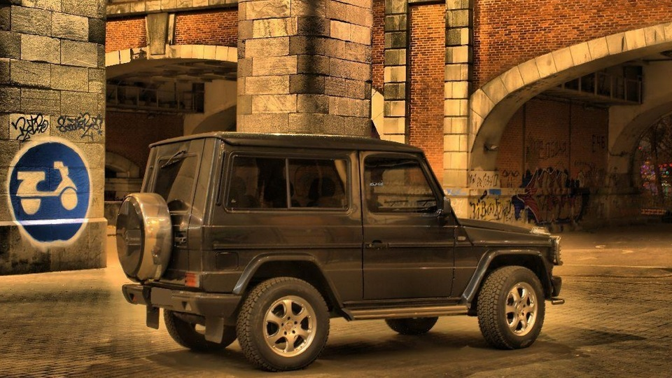 Mercedes benz g class gel ndewagen drive2 for Mercedes benz w463 for sale