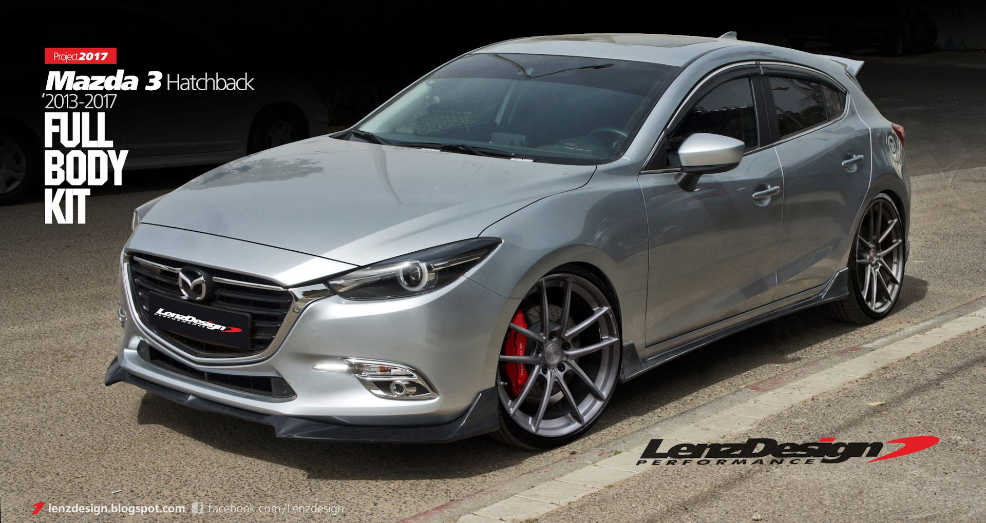 mazda 3 bm axela 2013 2014 2015 2016 2017 tuning body. Black Bedroom Furniture Sets. Home Design Ideas