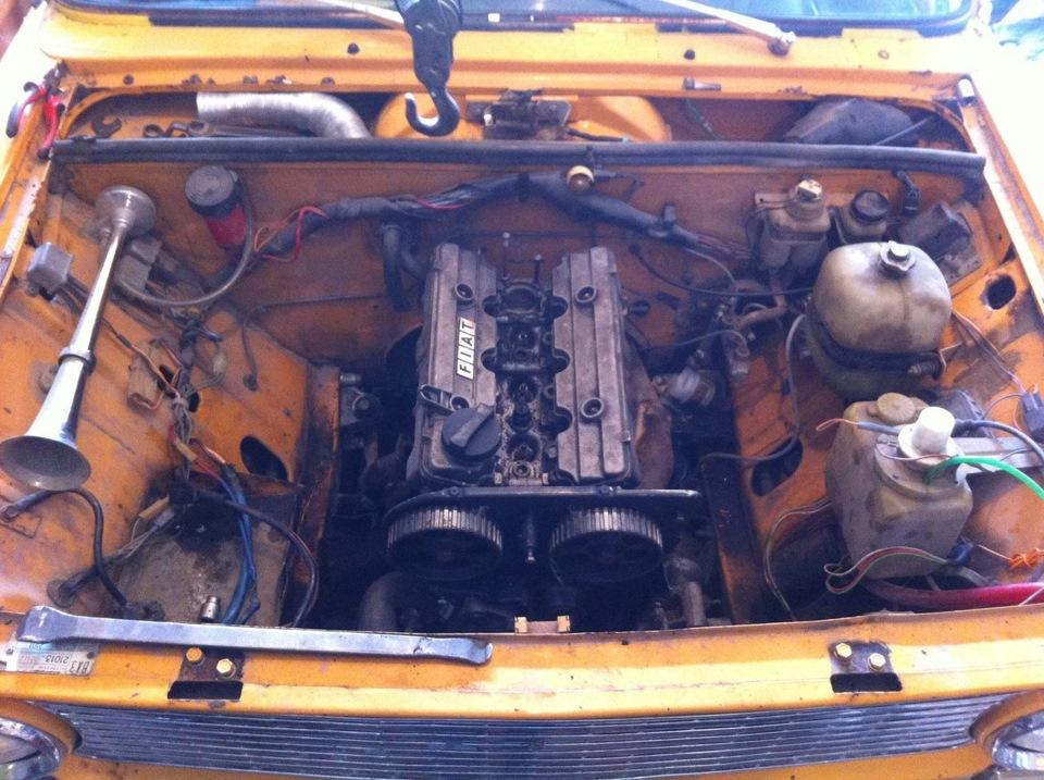двигатель от фиата на ваз