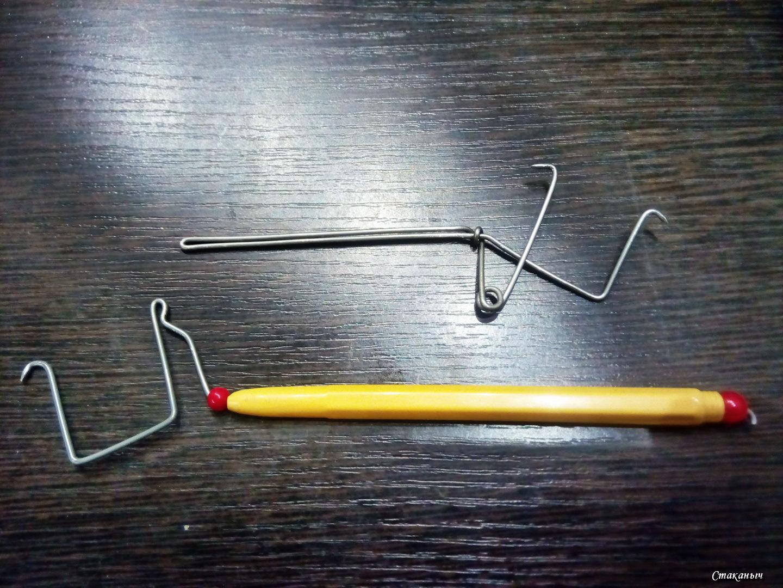 Как самому сделать крючковяз для рыбалки