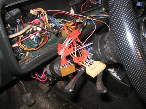 замена проводки на ваз 2109 своими руками.  Электропроводка на ваз 2109 в процессе подключения к приборам.