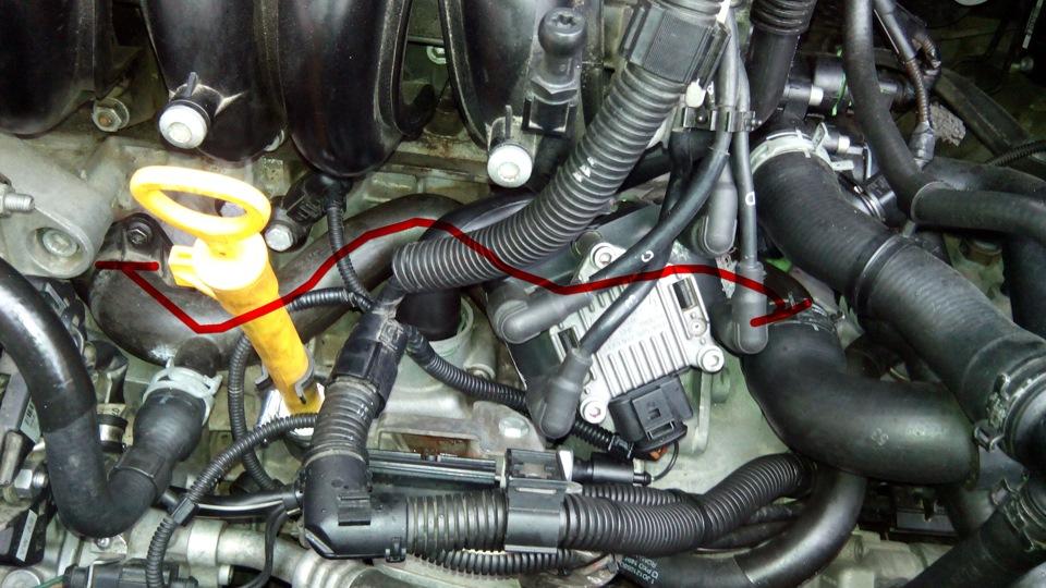 ремонт системы охлаждения skoda