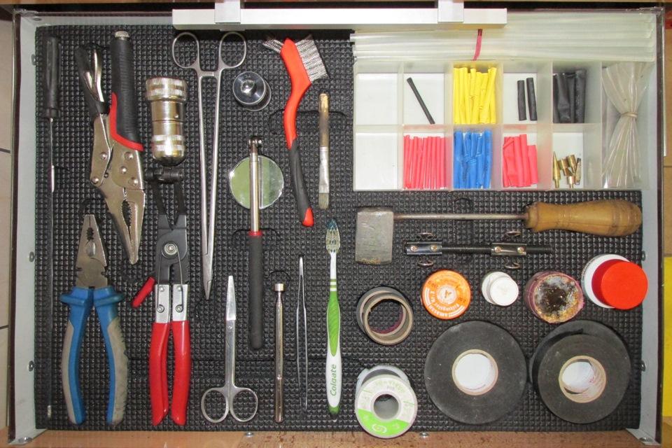 Комплект инструментов своими руками 98