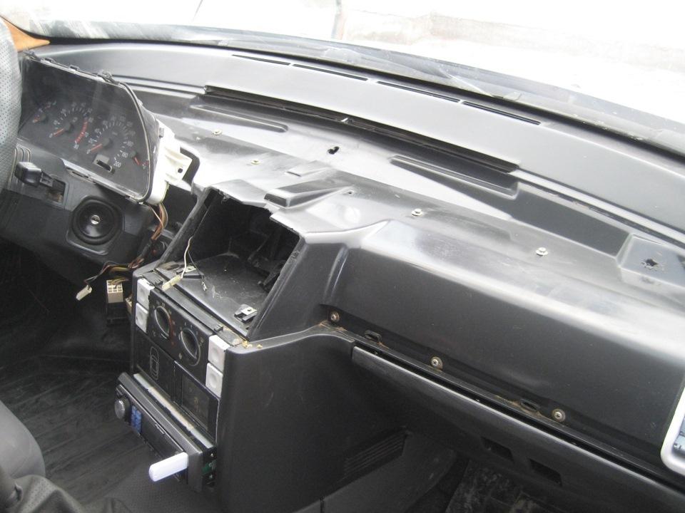 Фото №10 - тюнинг торпедо ВАЗ 2110 своими руками