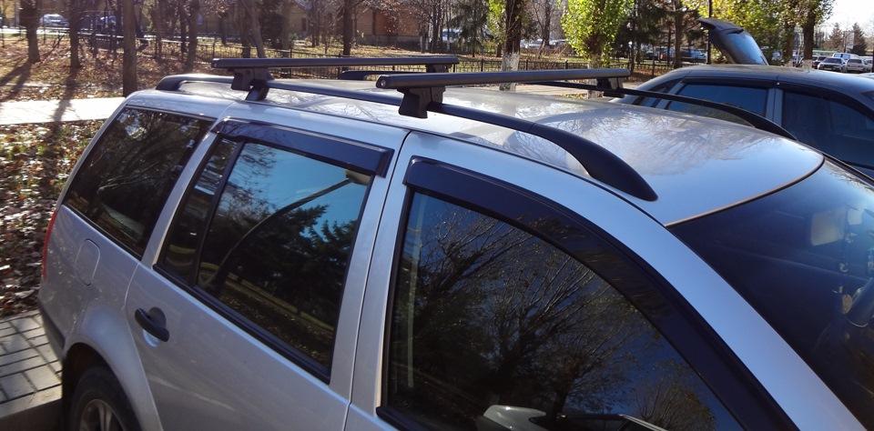 Багажник на крышу пассат б3 универсал своими руками 24