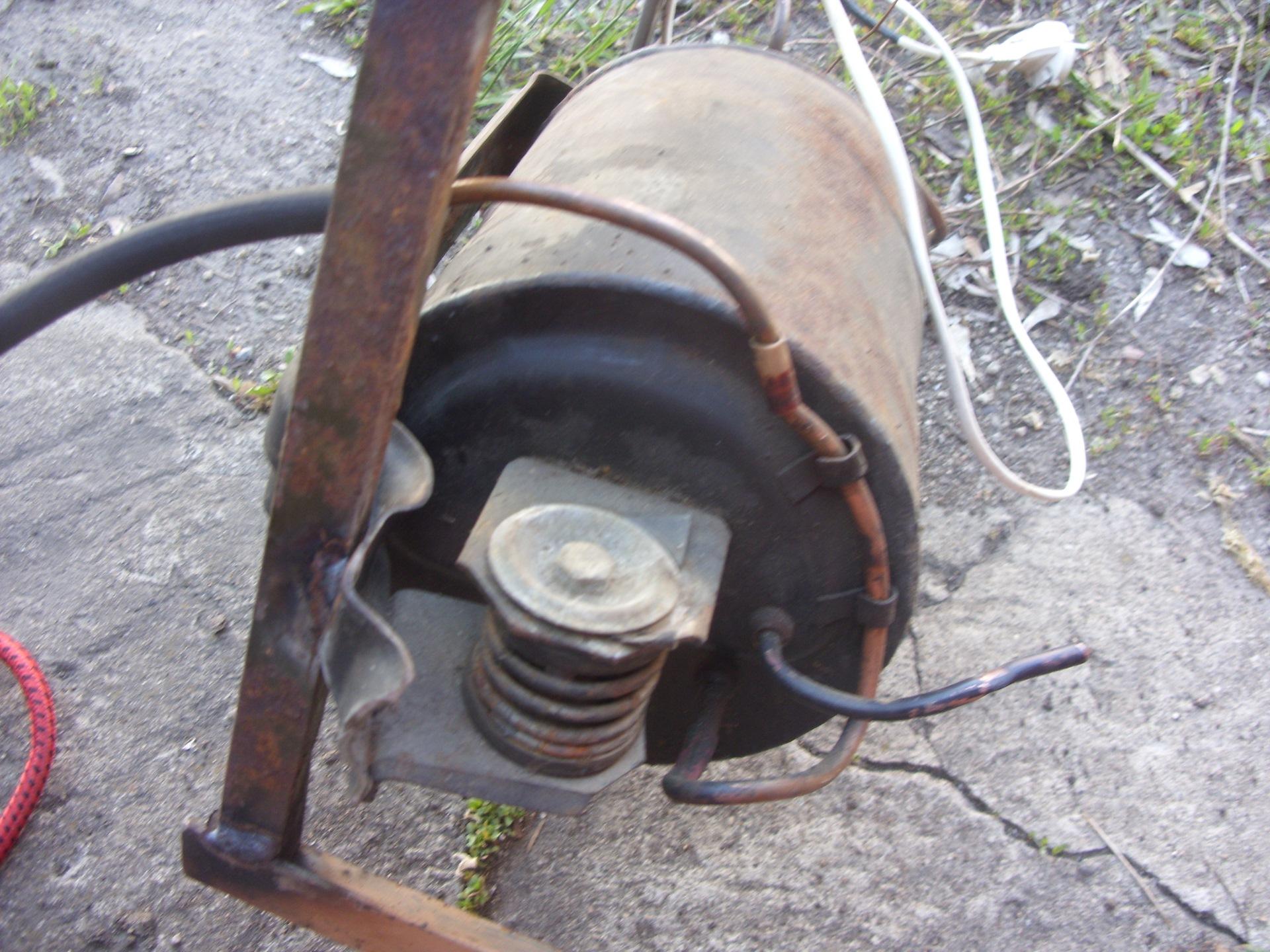 компрессор для накачки колес своими руками