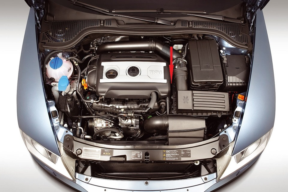 подробные характеристики двигателя октавии 3