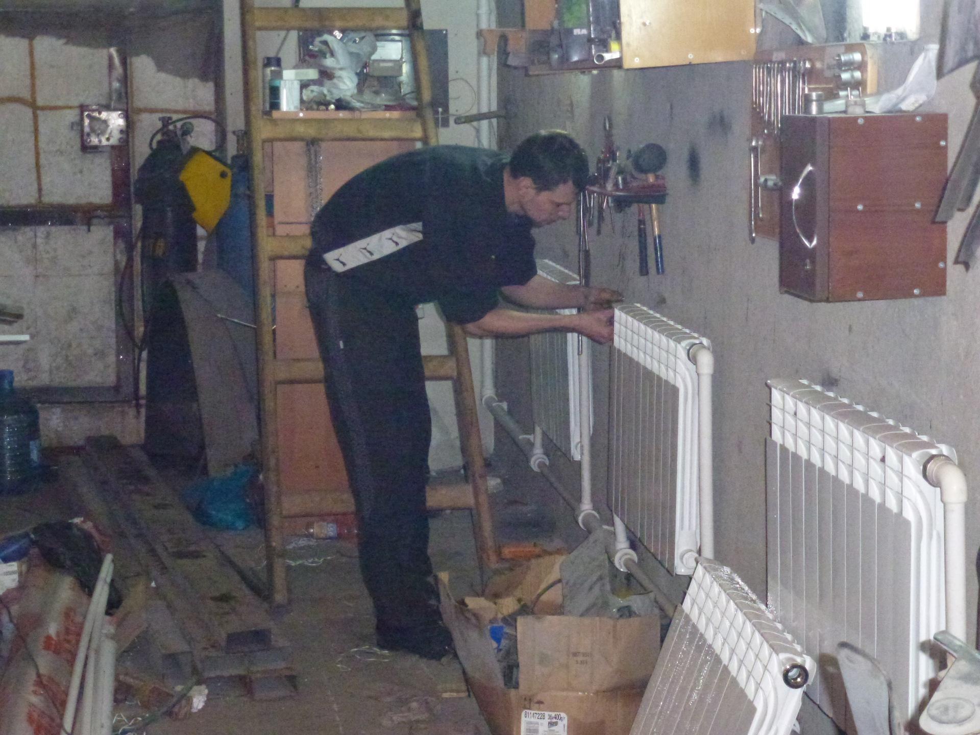 Отопление гаражей своими руками