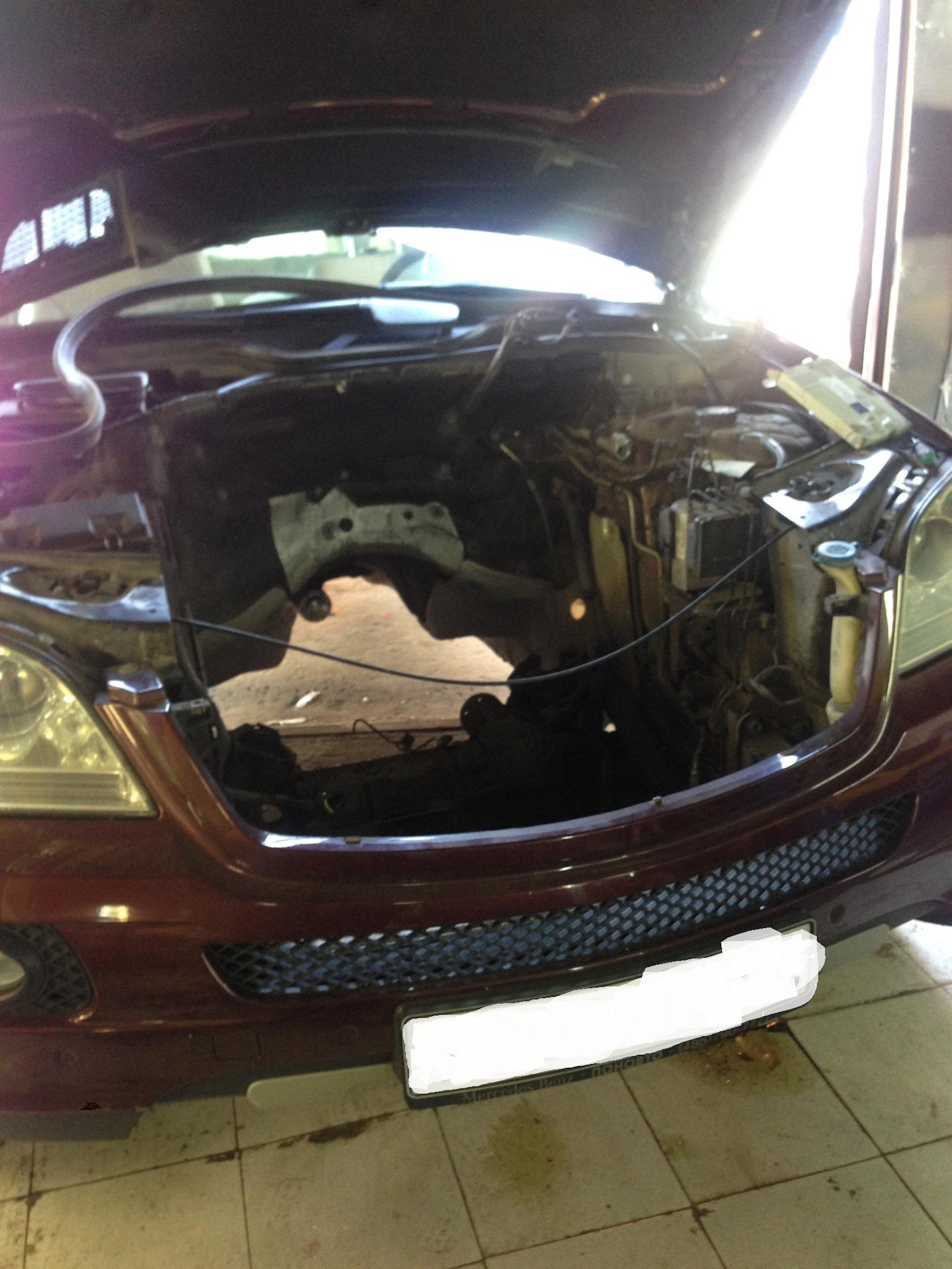 Ошибки P0017 P0016 mercedes m272 — DRIVE2