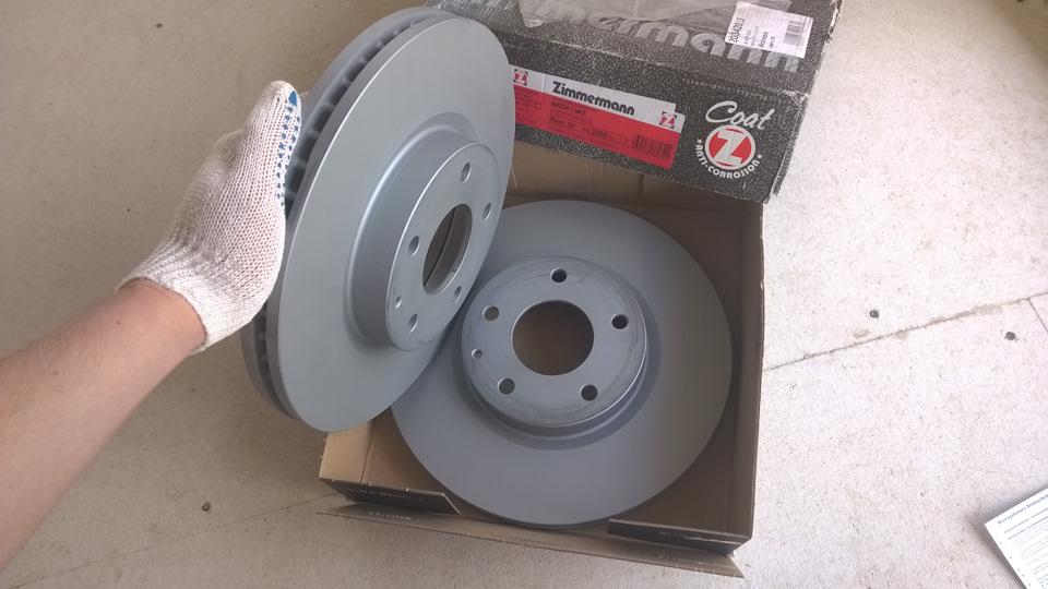 Как заменить тормозные диски на мазда 3