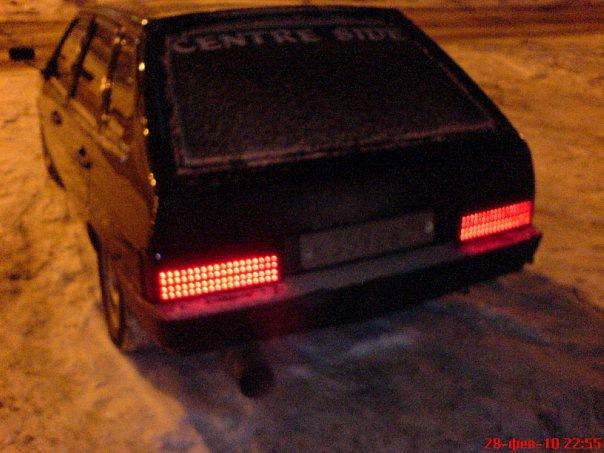 Как сделать самому задние фонари на 2109 85