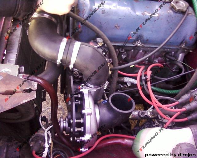 Компрессор на двигатель своими руками фото
