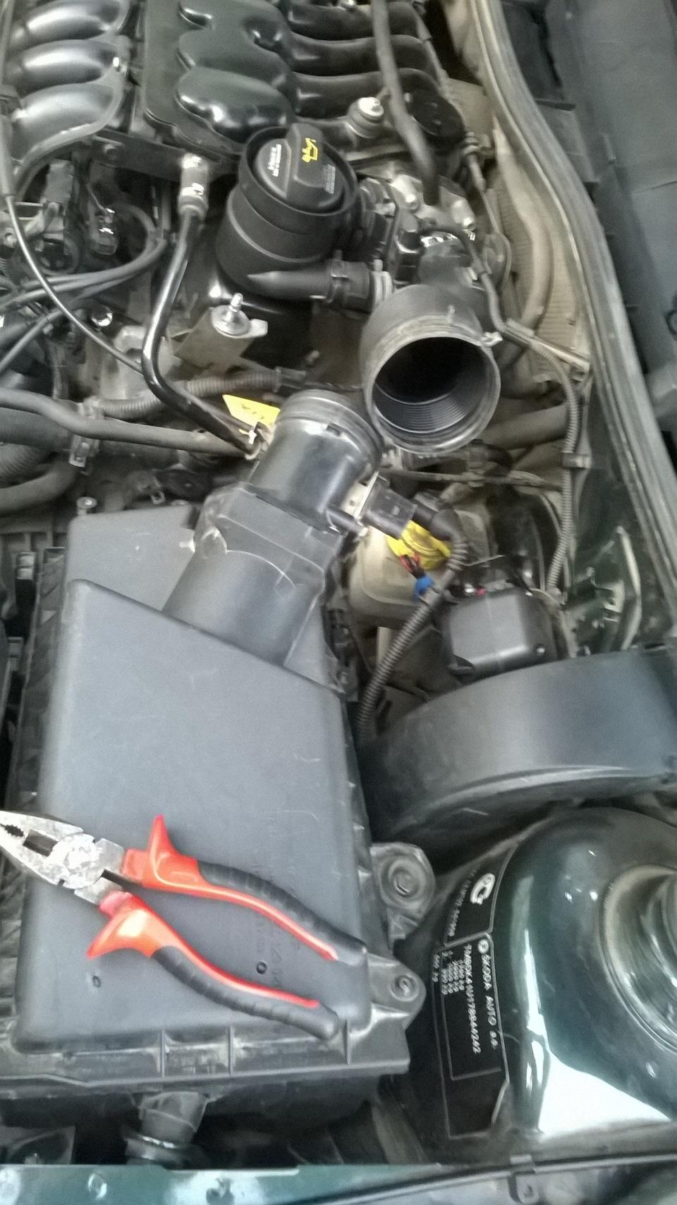Гольф 4 мотор акл сосет воздух