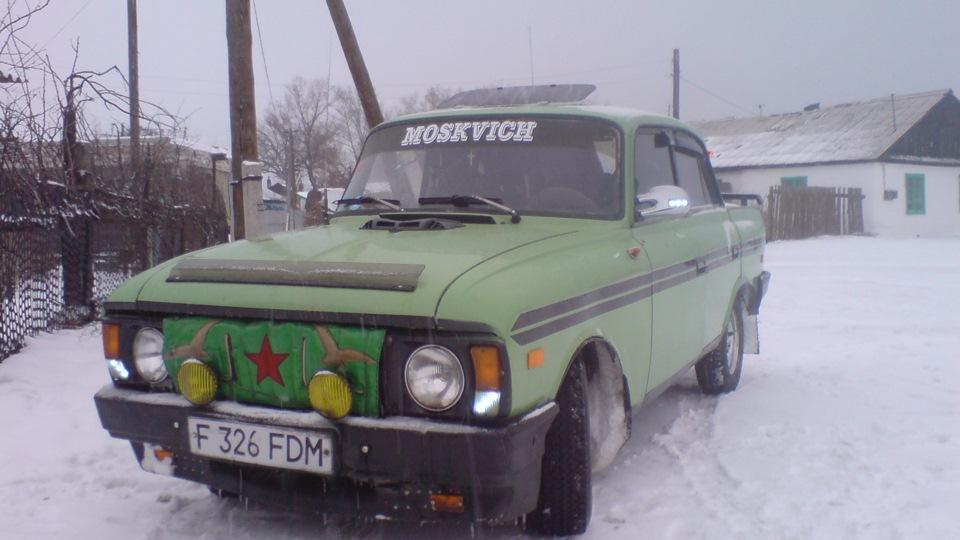 Как сделать москвич 412
