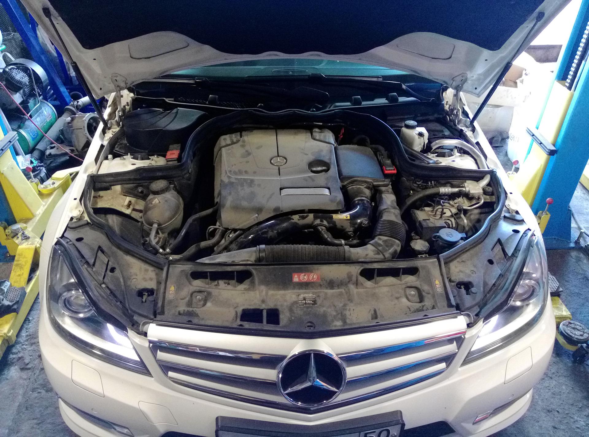 Поломка | P06DA00 — Mercedes-Benz C-class, 1 6 л , 2013 года на DRIVE2