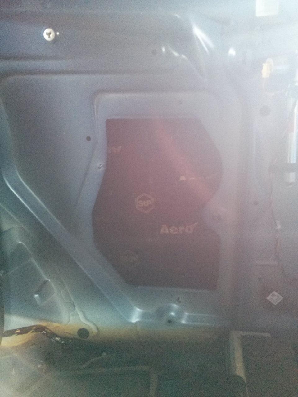 Авто шумоизоляция видео на установка