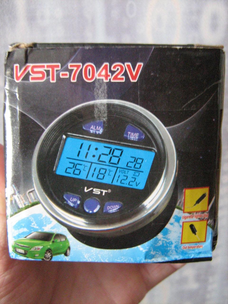 Электронные часы vst 7042v