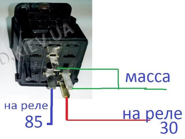 схема монтажным блоком типа 17.3722