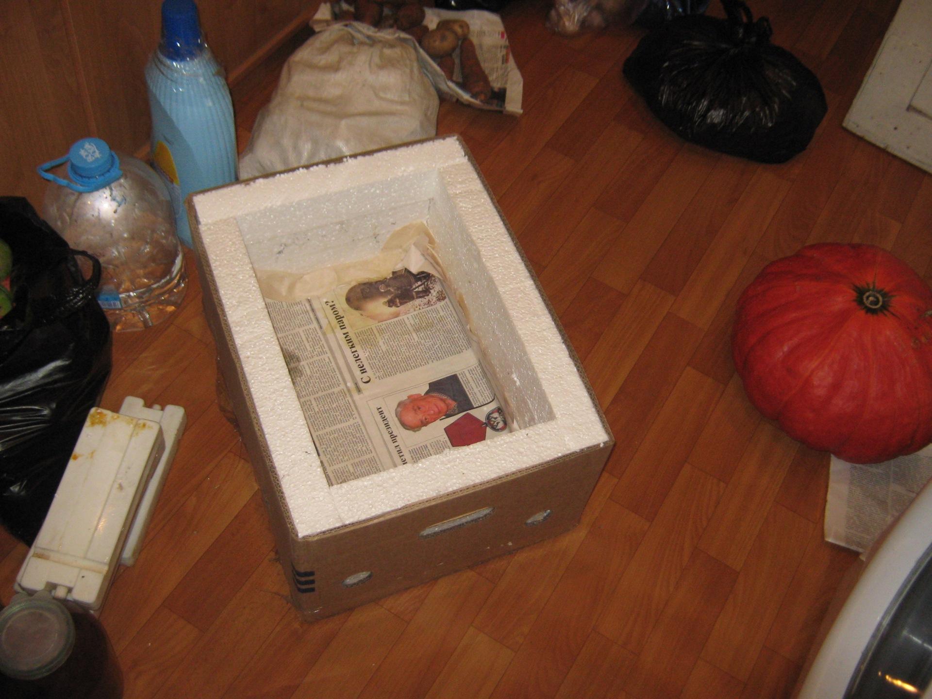 Как сделать холодильник из пенопласта своими руками пошаговое фото