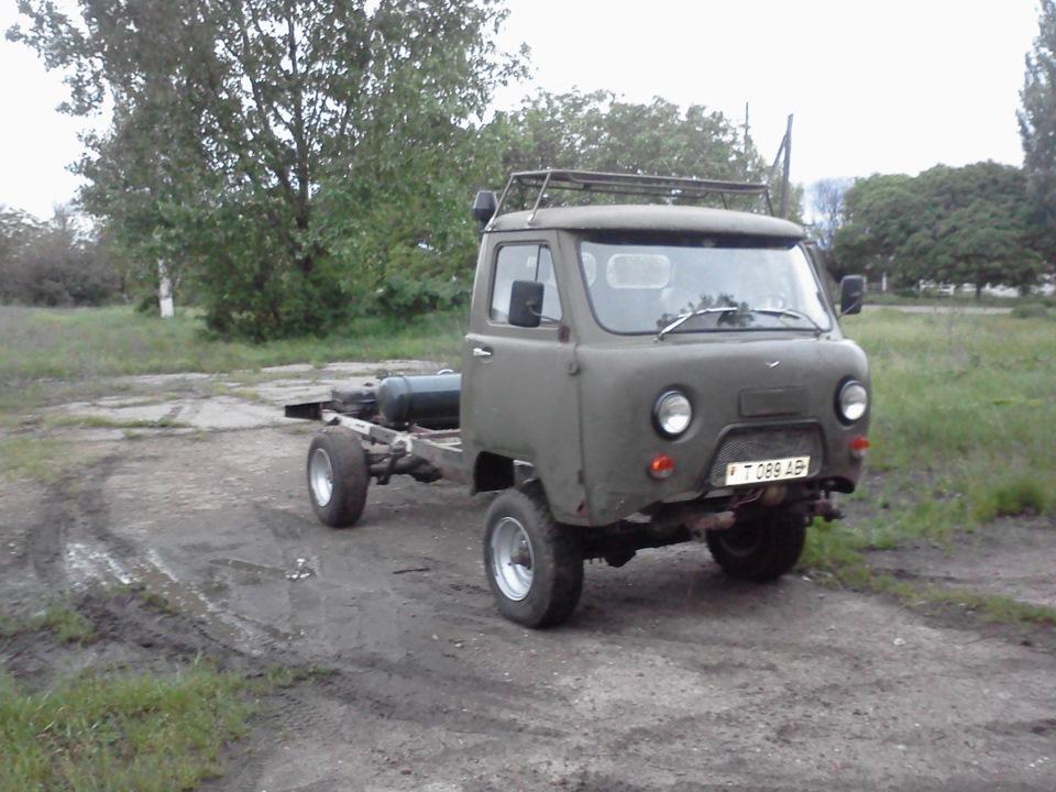 УАЗ 3303 переделывается