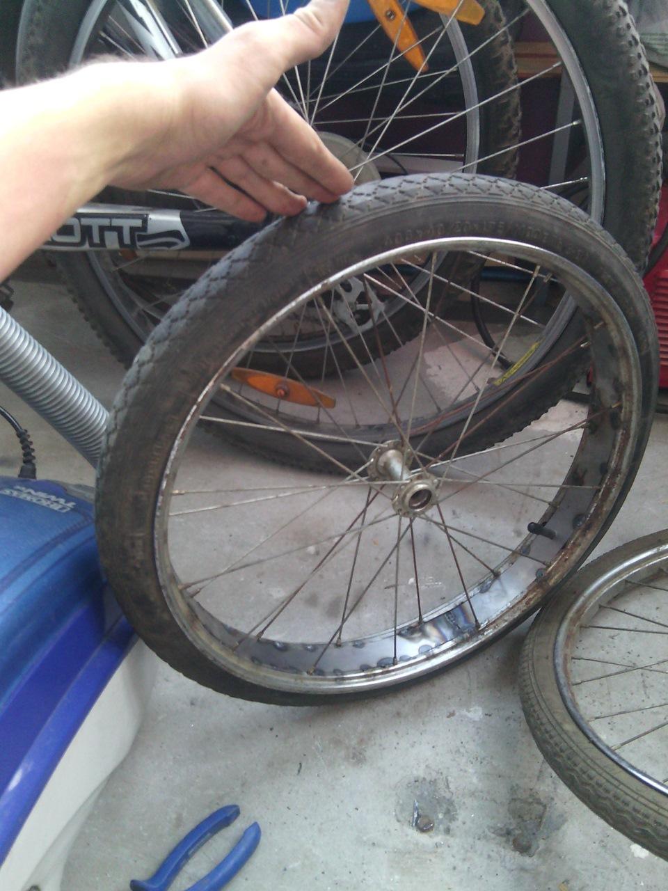 Как сделать покрышку на велосипед 186