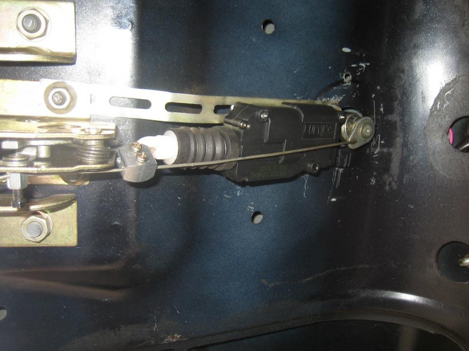Электропривод багажника ваз 2115 своими руками