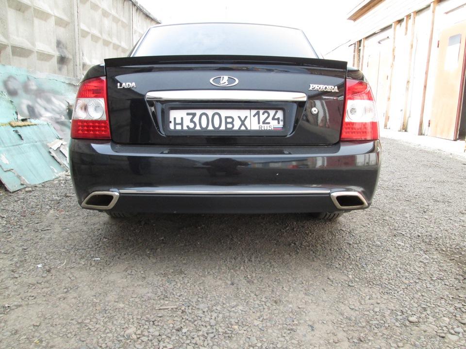Lada Priora двойной выхлоп Subaru sound Lexus style - DRIVE2